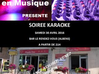 Karaoké à Albens