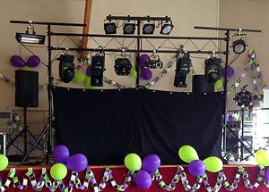 Sono DJ avec pont de 3m pour soirées en Savoie, Isere -Des Lyres en Musique
