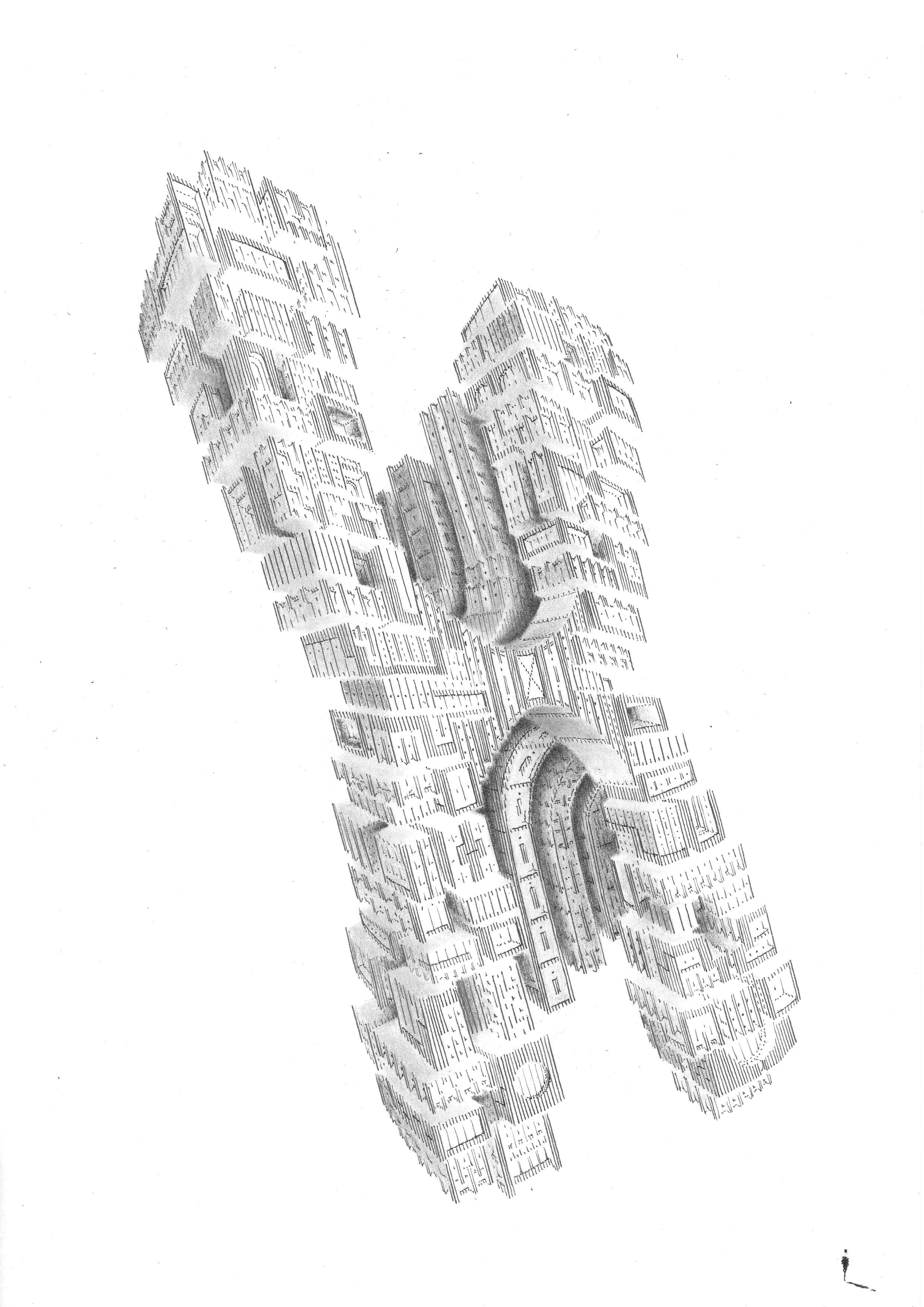 Fragment XI 20x30-2018