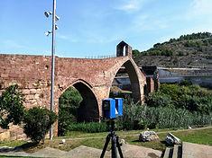 Infrastructures de numérisation laser 3D, société de services de mesure 3D et de numérisation 3D avec scanner laser 3D à Barcelone, numérisation laser, nuage de points