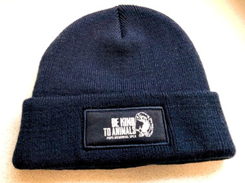 Be Kind to Animals Winter Beanie Hat