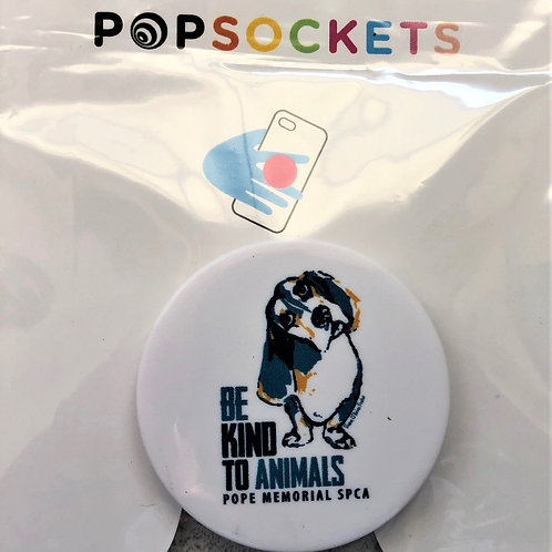 Be Kind to Animals Pop Socket