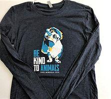 Be Kind to Animals Long Sleeve Shirt.jpg