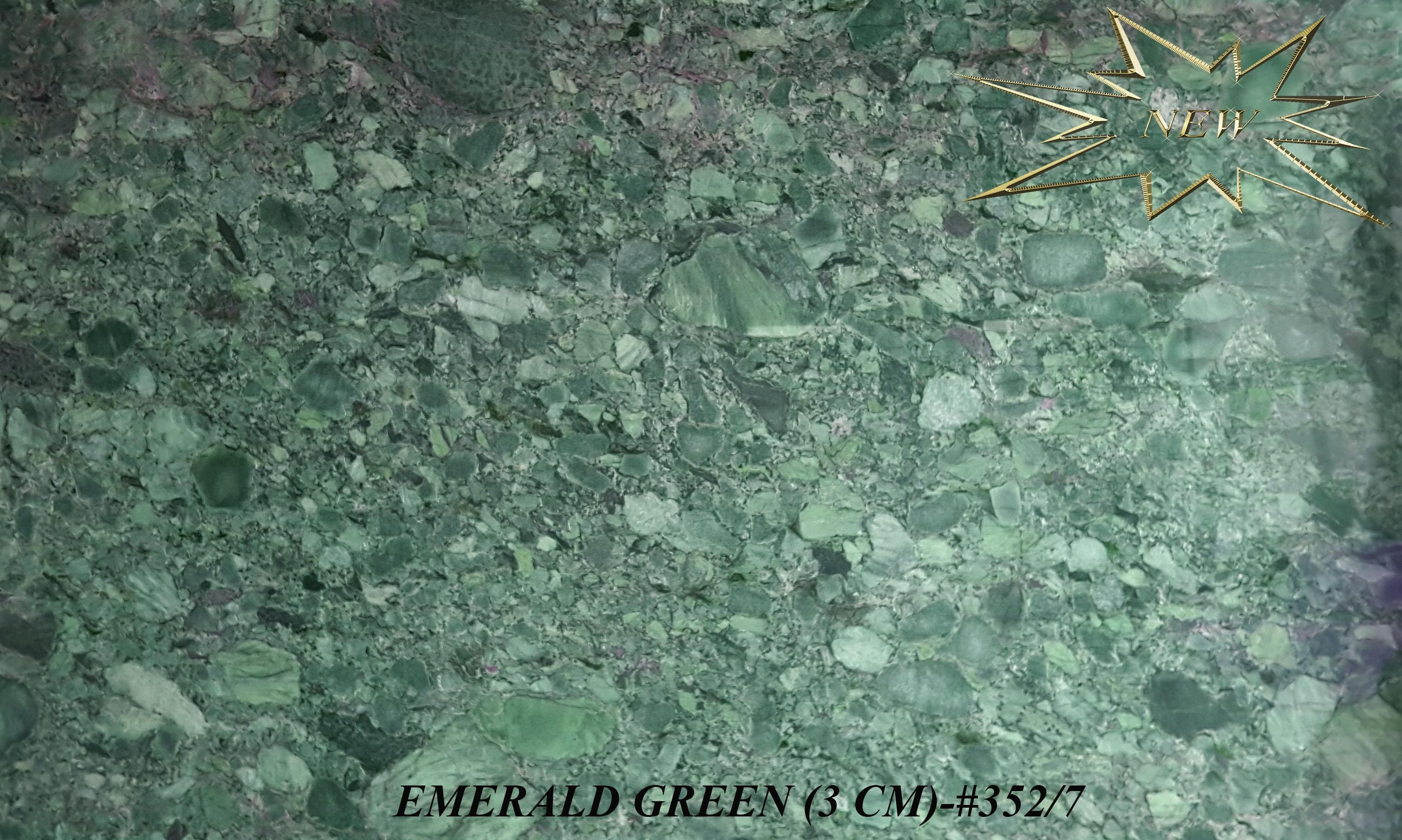EMERALD GREEN 3CM-#352-7
