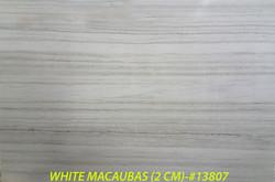 WHITE MACAUBAS (2 CM)-#13807