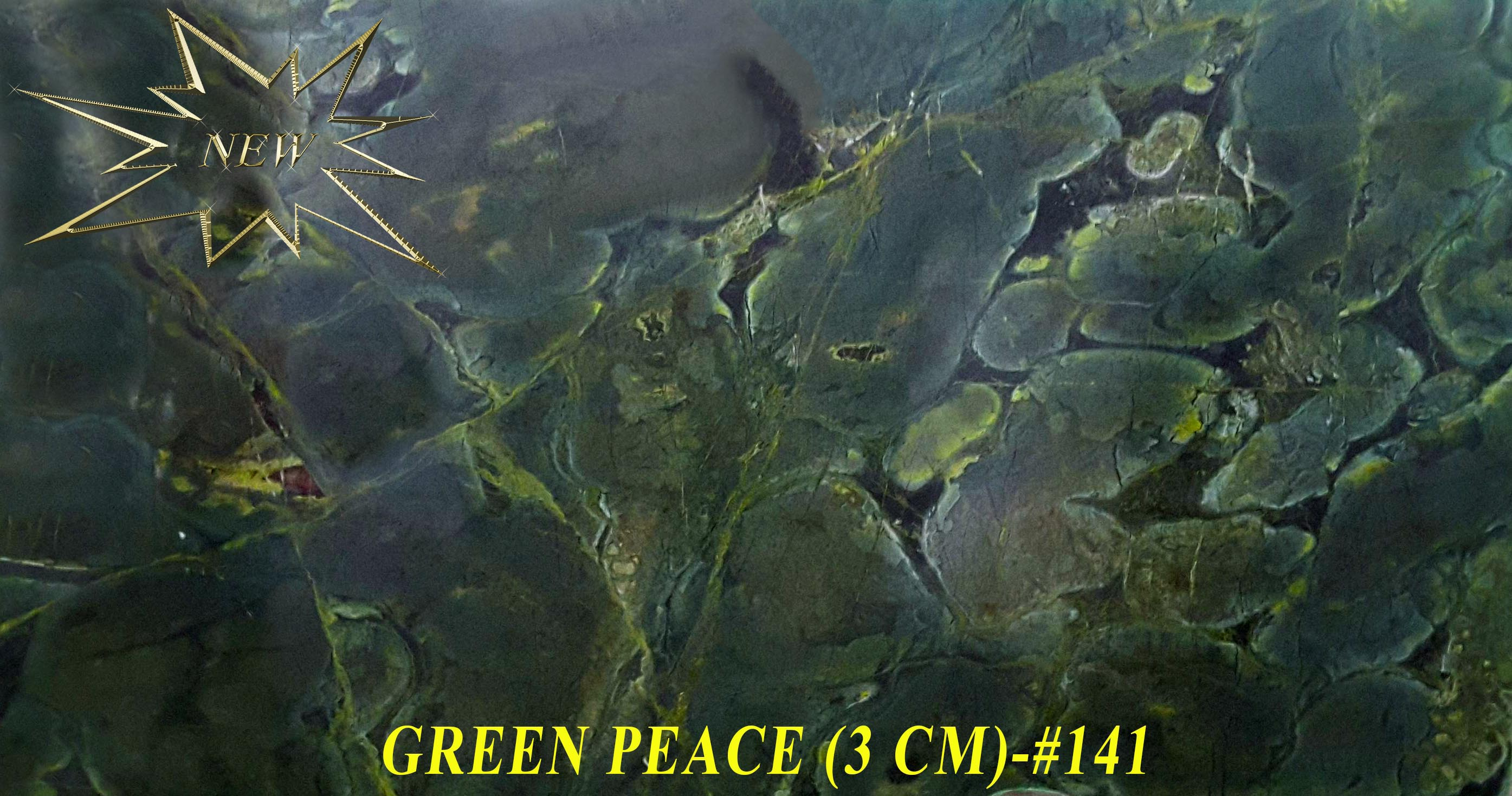 GREEN PEACE (NEW)(3 CM)-#141