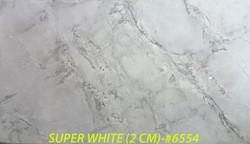 SUPER WHITE (2 CM)-#6554