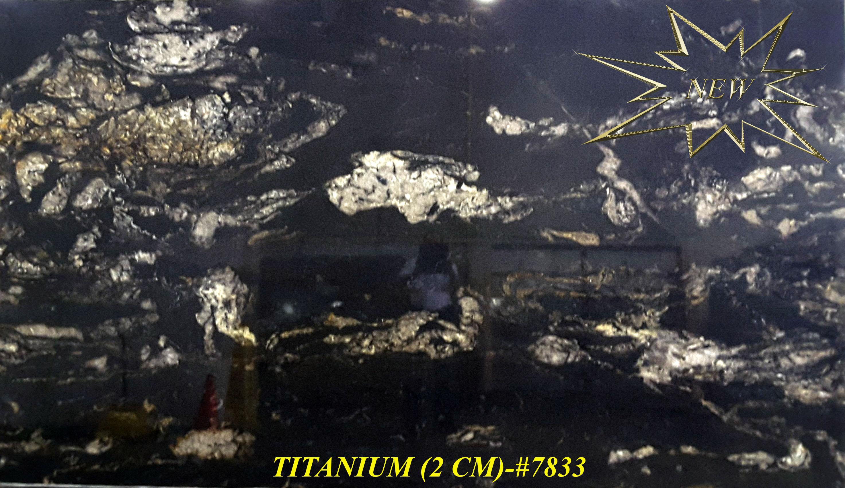 TITANIUM (2 CM)-#7833-S