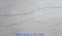 WHITE PEARL (2 CM)-#166-2
