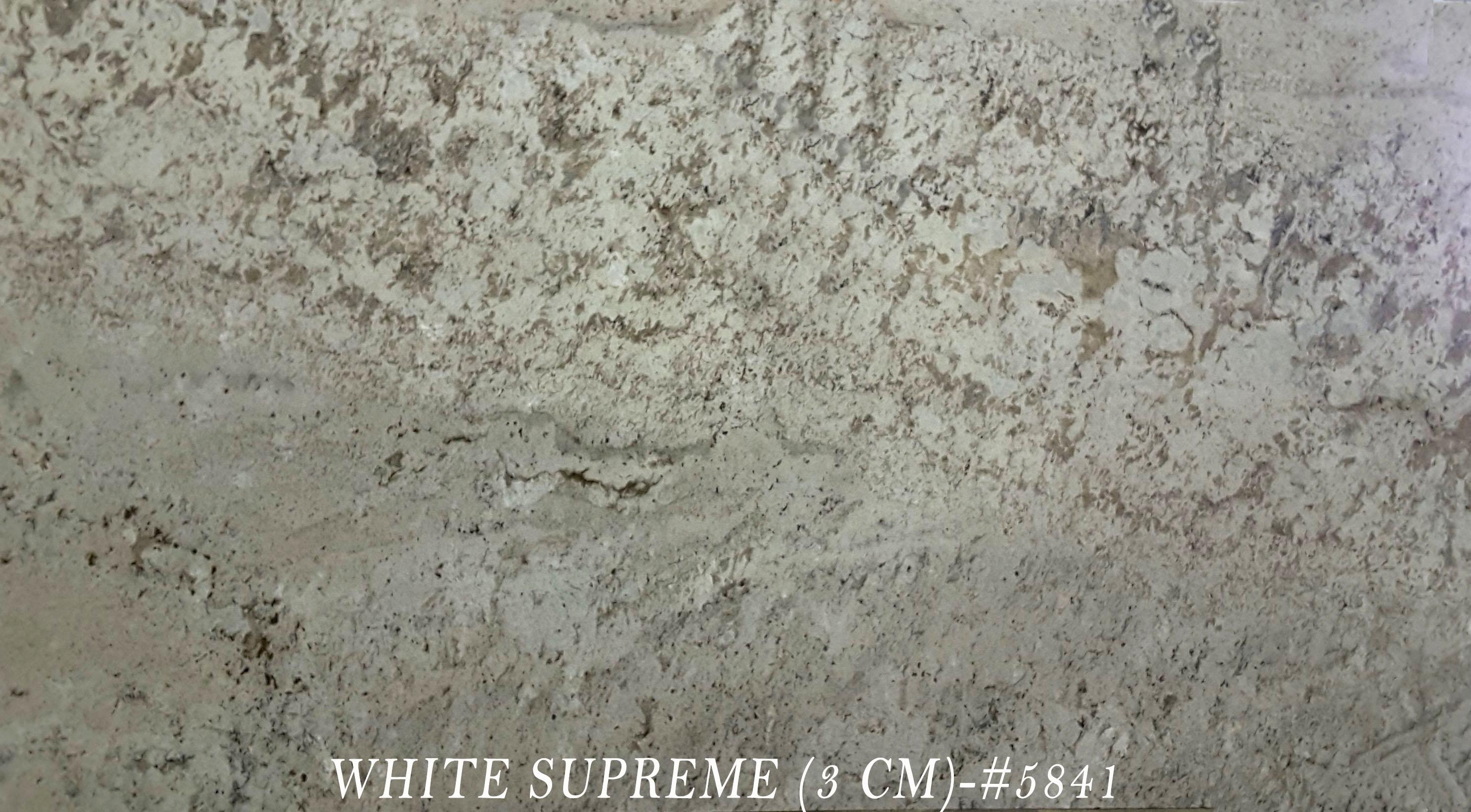 WHITE SUPREME (3 CM)-#5841