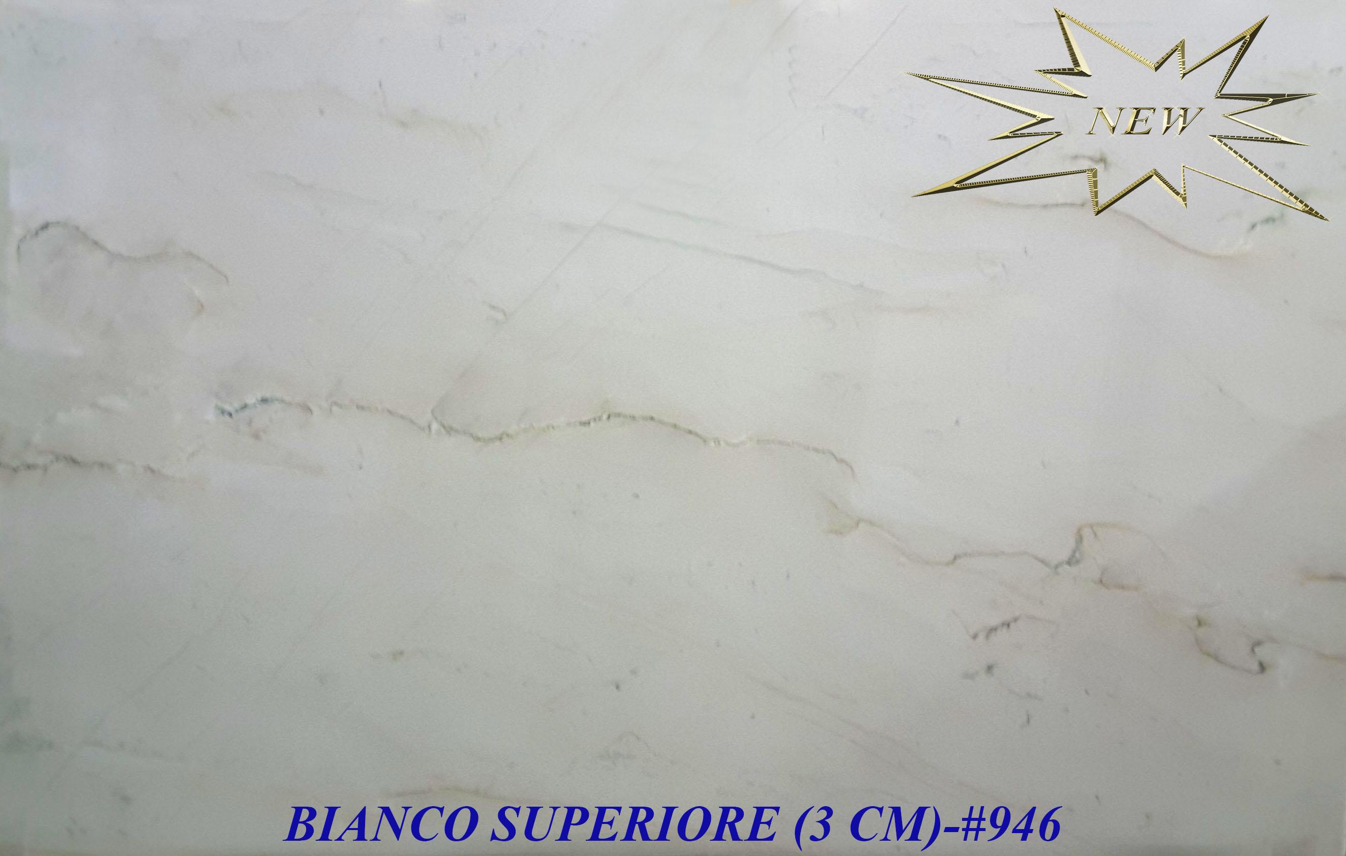 BIANCO SUPERIORE 3CM-#946