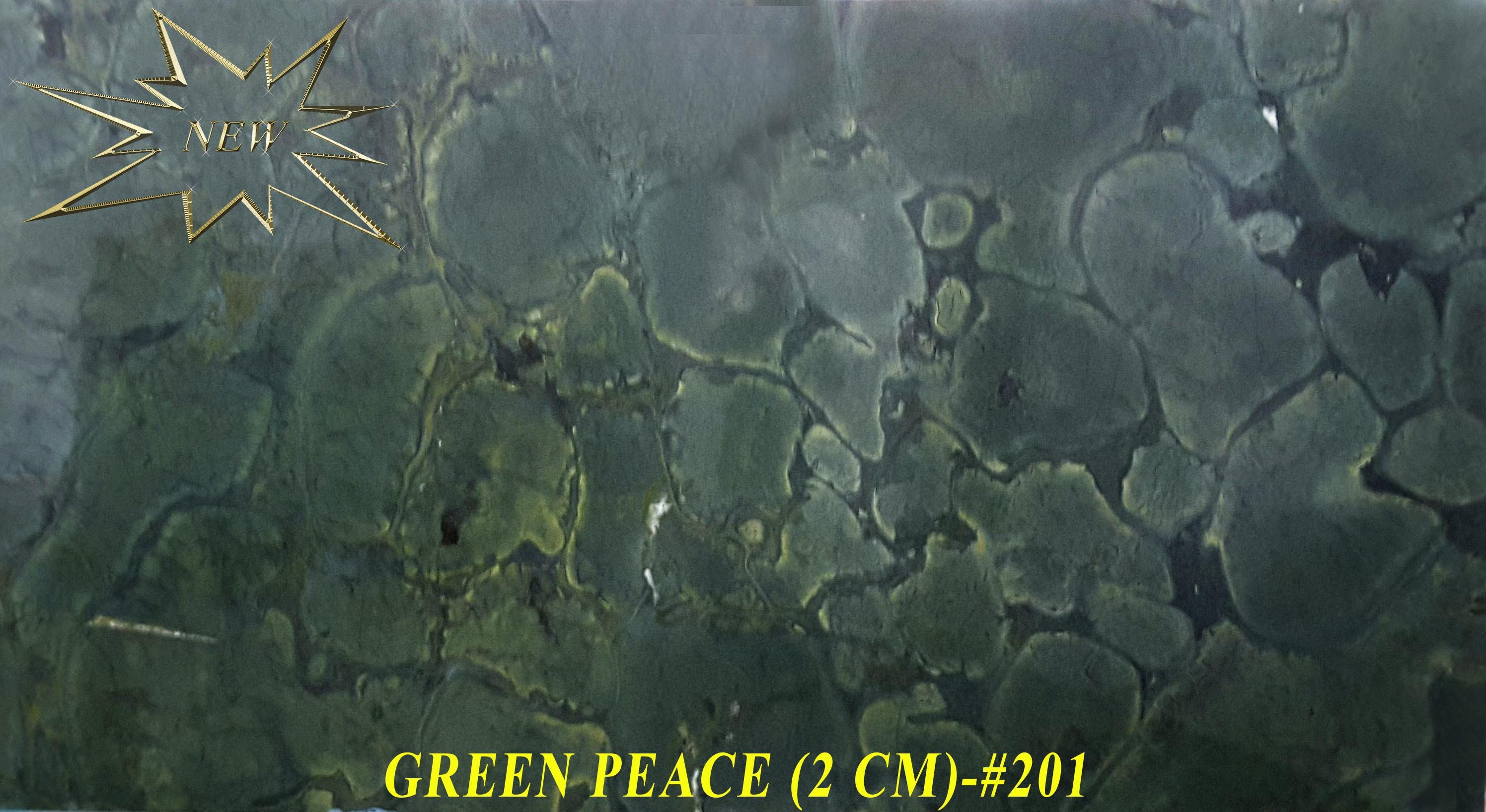 GREEN PEACE (2 CM)-#201