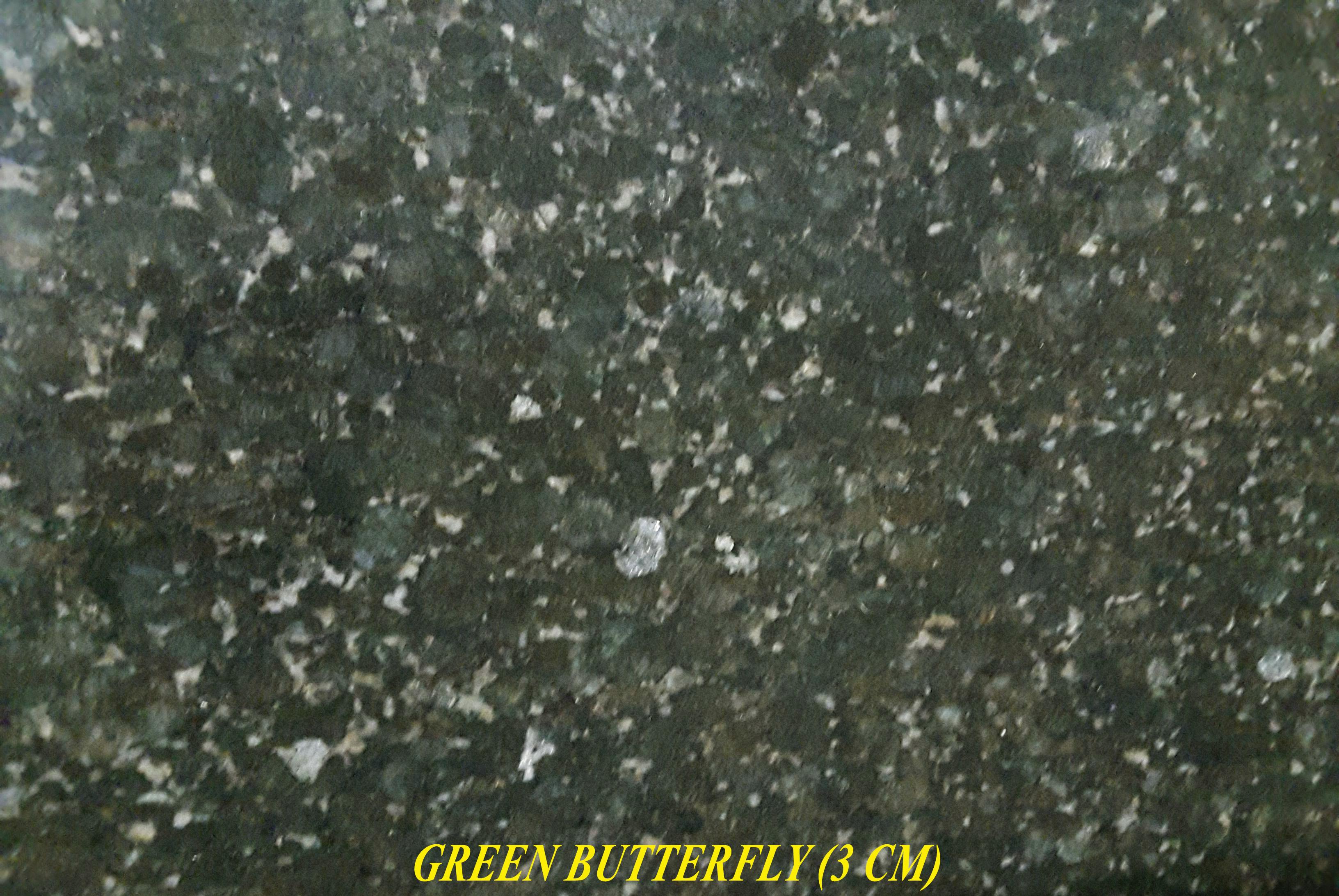 GREEN BUTTERFLY (3 CM)