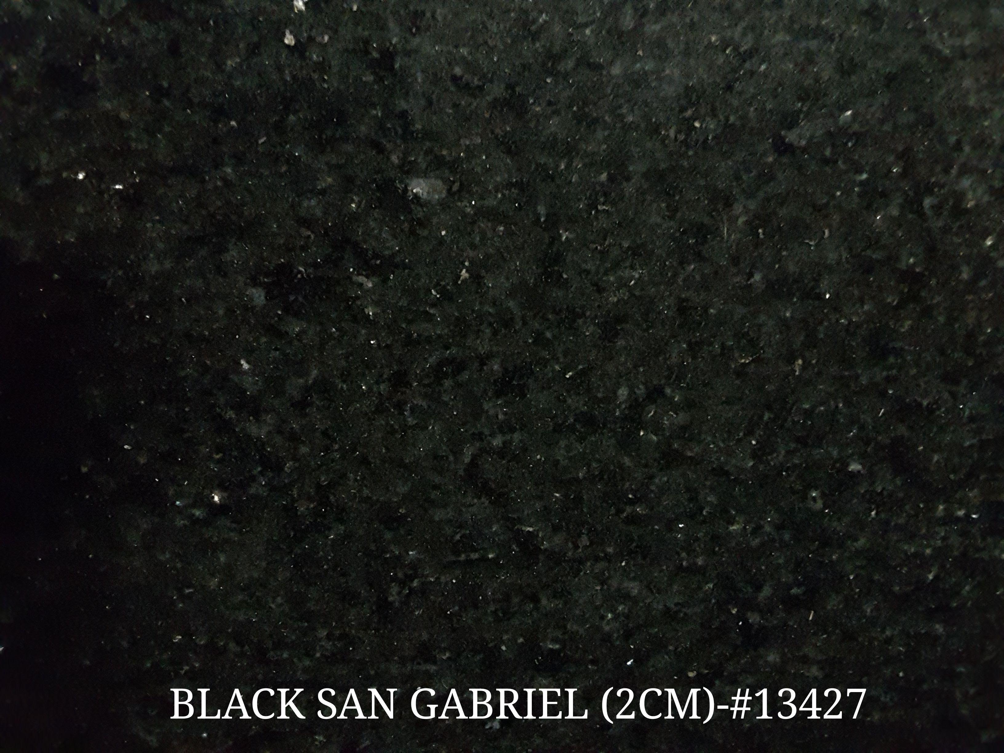 BLACK SAN GABRIEL (2 CM)-#13427
