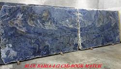 BLUE BAHIA-4 (2 CM)BOOKMATCH-#12130-54-55