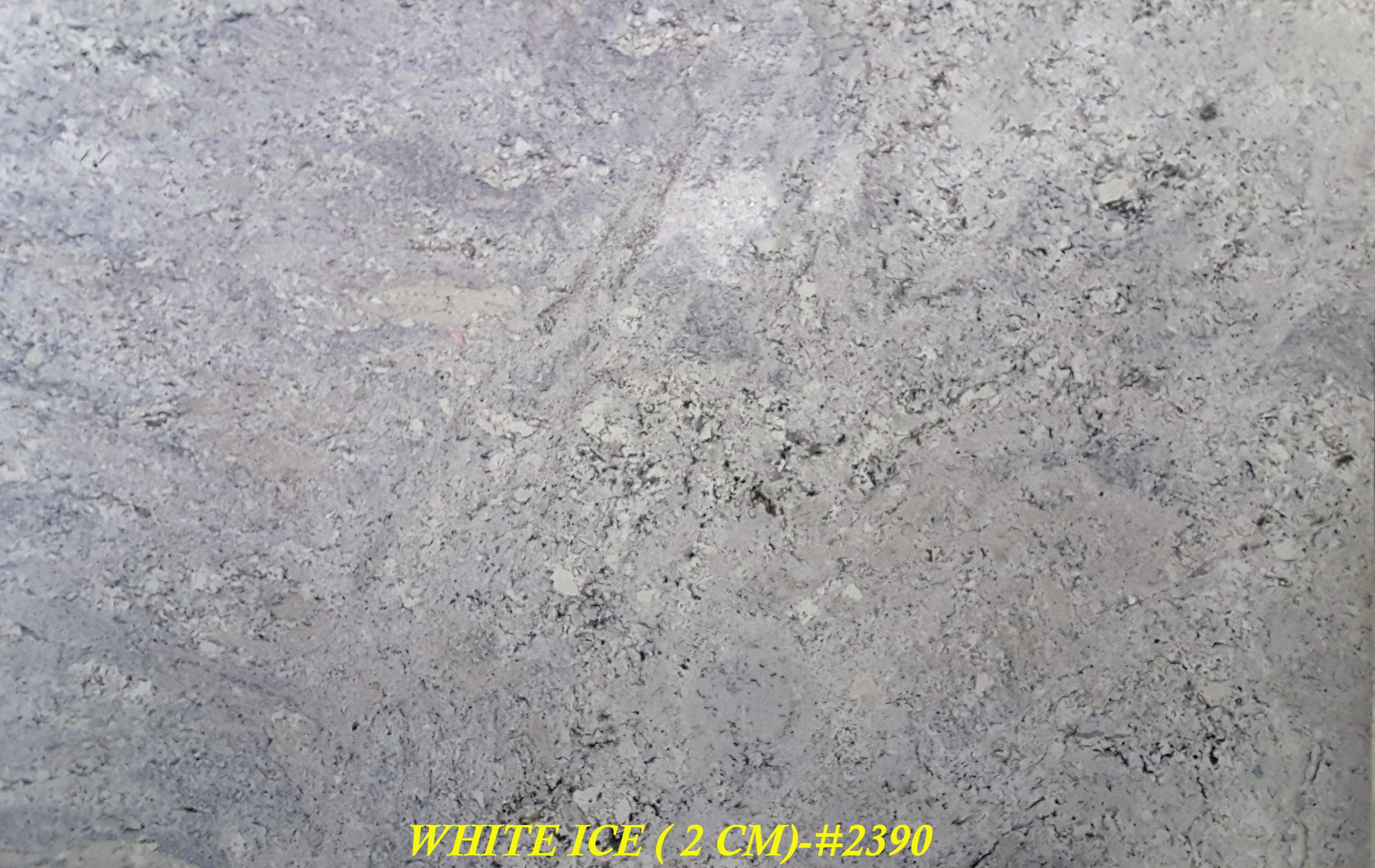 WHITE ICE (2 CM)-#2390