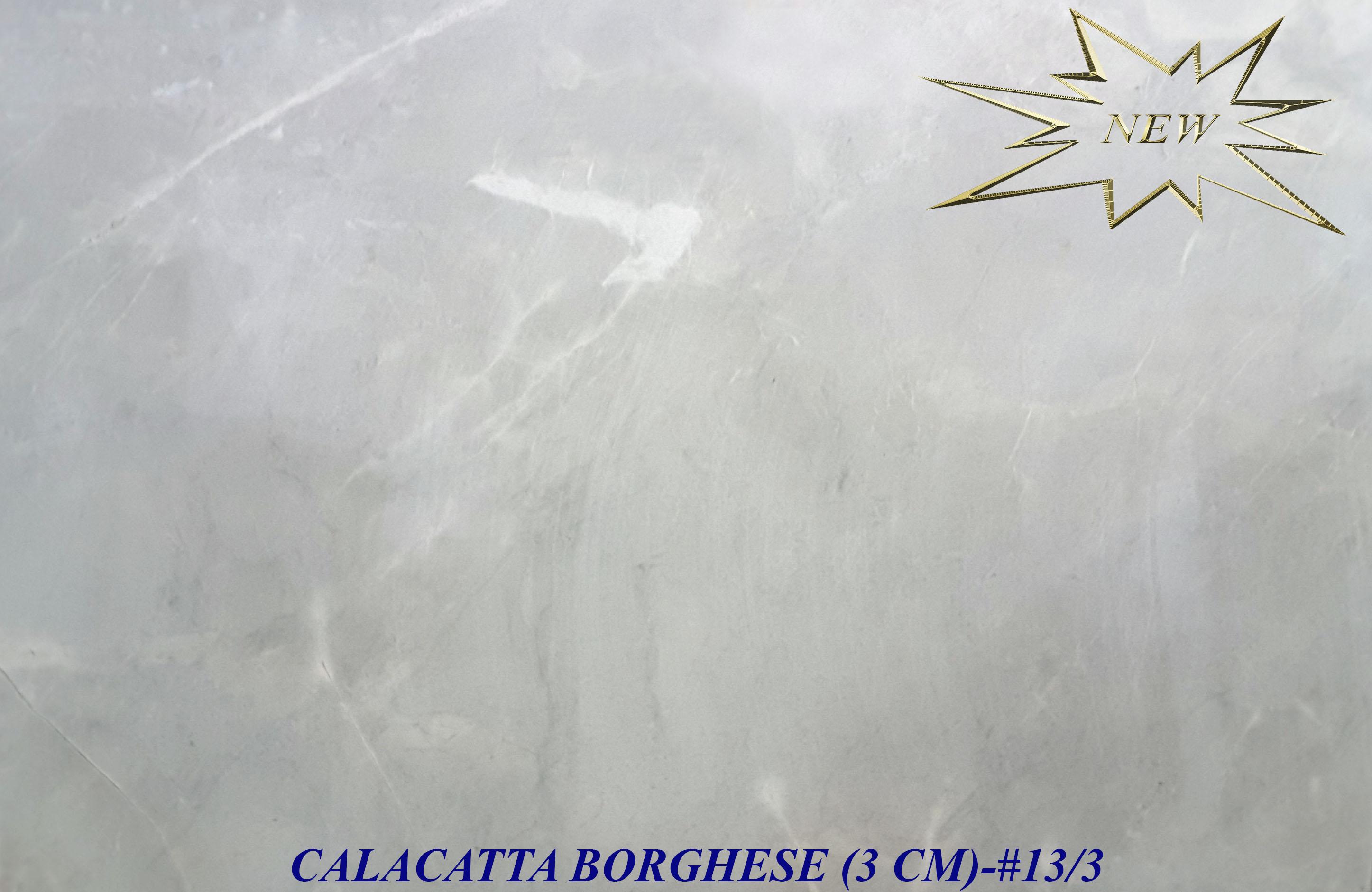 CALACATTA BORGHESE 3CM-#13-3-STAR