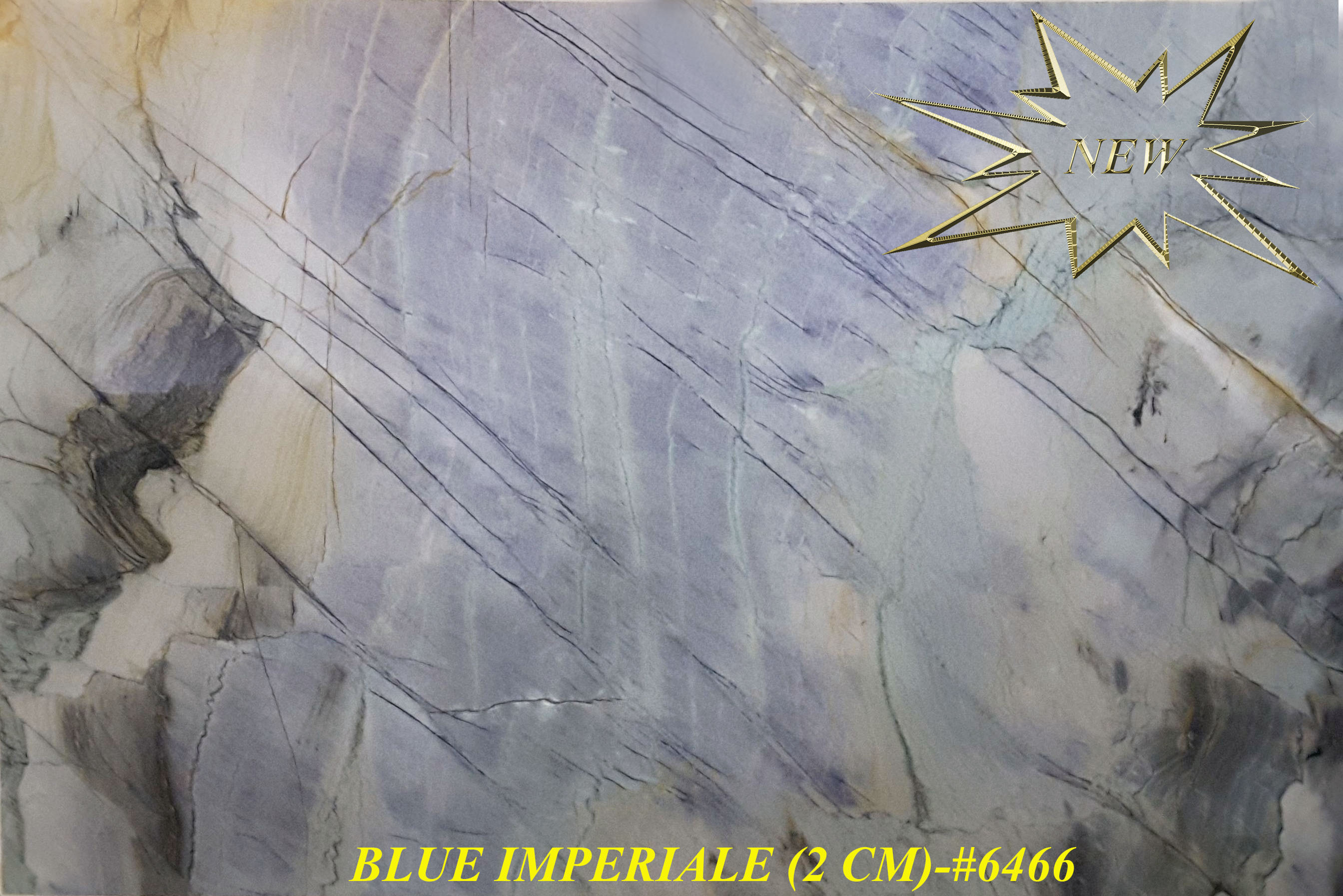 BLUE IMPERIALE (2 CM)-#6466-S