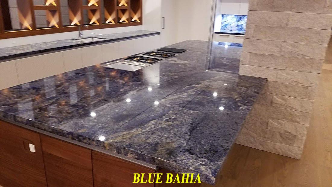Blue Bahia Marble And Granite