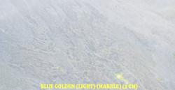 BLUE GOLDEN (LIGHT) (MARBLE)