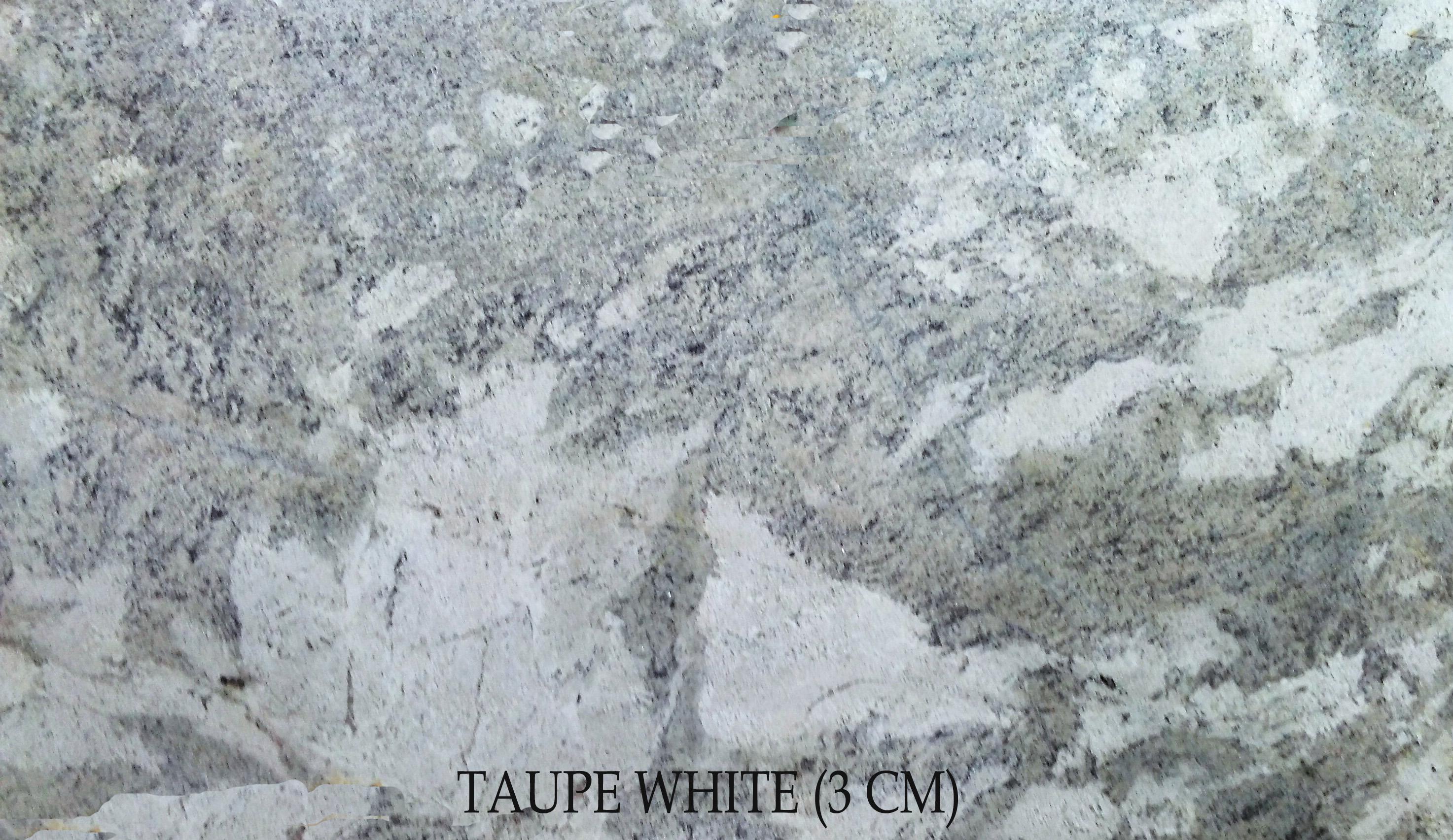 TAUPE WHITE (3 CM)