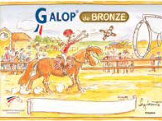 Chloé, Sacha et Thibault ont validé leur Galop de Bronze et Poney de Bronze et d'Argent !