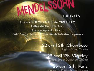 Concert samedi 22 avril 21h à Chevreuse