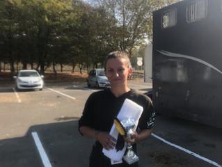 Victoire pour Garance au CCE de St Quentin en Yvelines (78)- 18 Octobre 2018