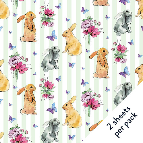 Bunnies Gift Wrap