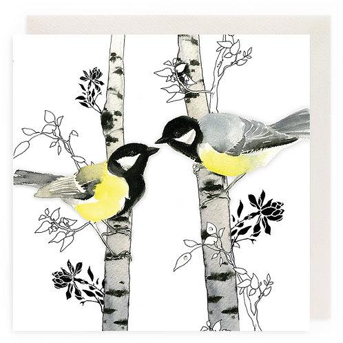 Birds on Birch