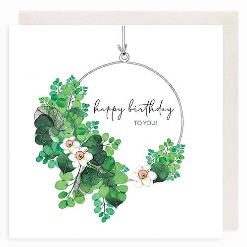 Leafy Green Hoop