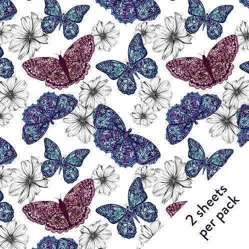 Butterflies Gift Wrap