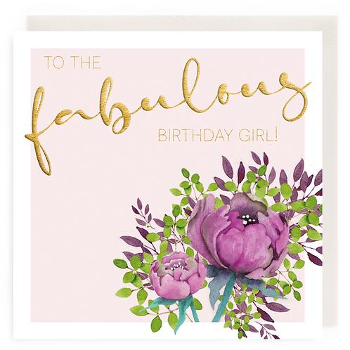 To the fabulous birthday girl!