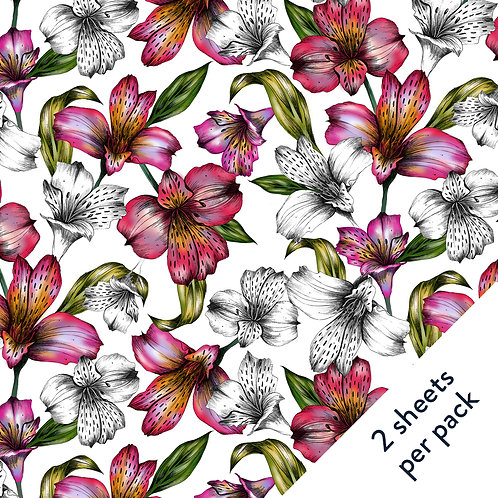 Lilies Gift Wrap