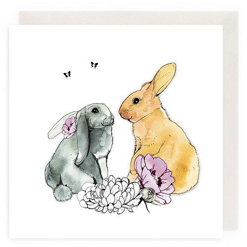 Lovable Rabbits