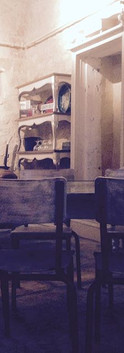 Vintage style café in Issigeac - the new