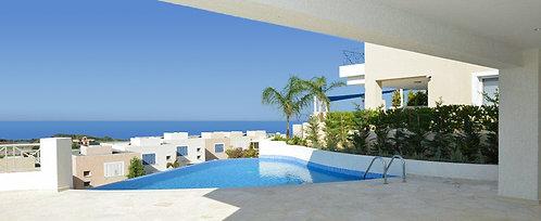 Villa 2 PN sang trọng hồ bơi riêng Belvedere Villas - Chloraka, CH Síp