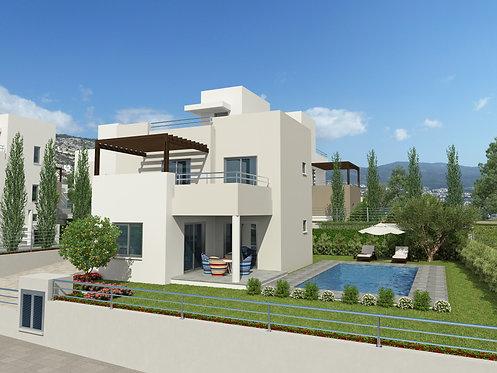 Riza Height 2 - Villa 4PN sang trọng có hồ bơi riêng view biển, CH Síp