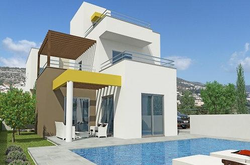 Riza Height 1 - Villa 3PN sang trọng có hồ bơi riêng view biển, CH Síp