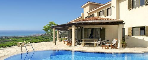 Villa hạng sang 4 PN hồ bơi riêng cùng tầm nhìn tuyệt đẹp Olympus Villas, CH Síp