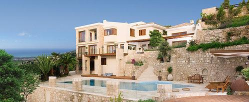Villa 2 PN cao cấp hồ bơi riêng - Leptos Kamares Village, CH Síp
