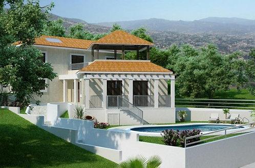 VRISOUDIA PROJECT - Villa 3PN sang trọng có hồ bơi riêng view biển, Pafos CH Síp