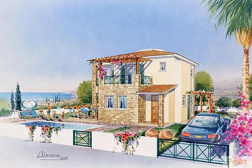 Argaka Bay Villas - Villa 3 PN cao cấp hồ bơi riêng, CH Síp