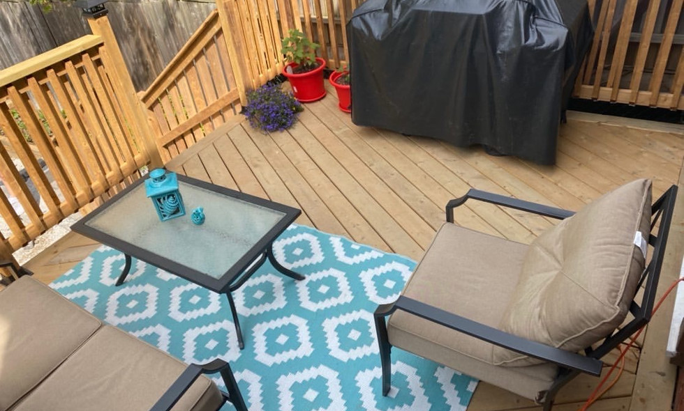 Custom Deck Build and ready for summer