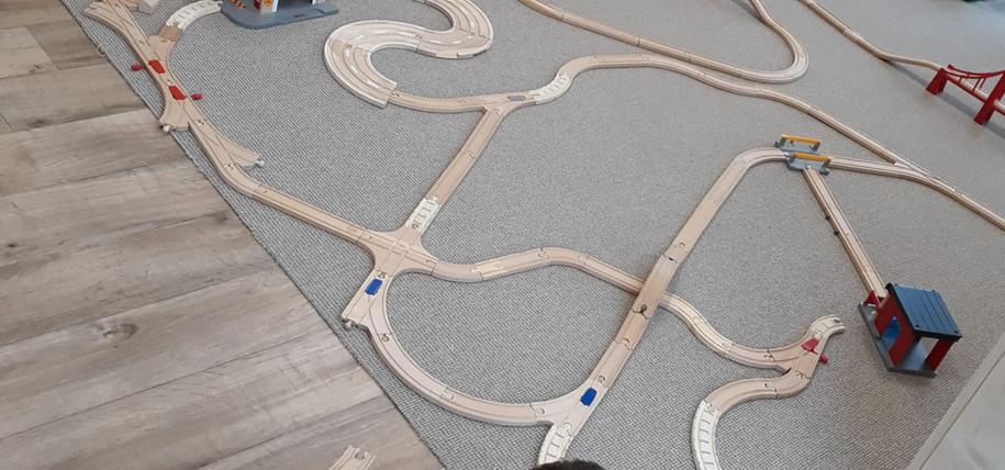 zestaw pociągów BRIO