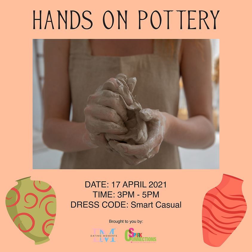 Hands on Pottery! (SOLD OUT)