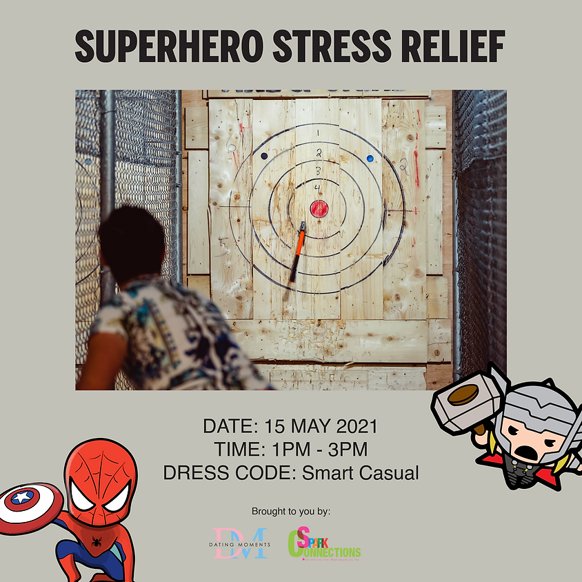 Superhero Stress Relieve