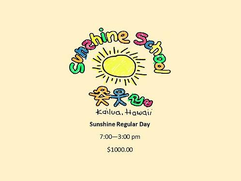 Sunshine Regular Day Tuition