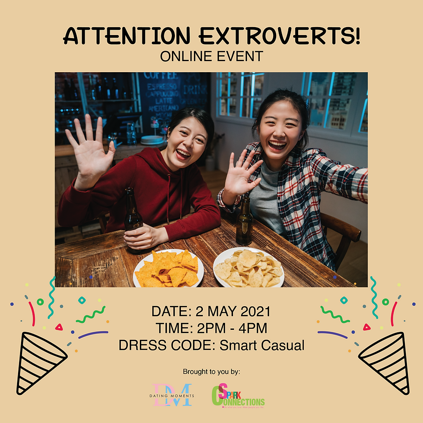 Attention Extroverts!