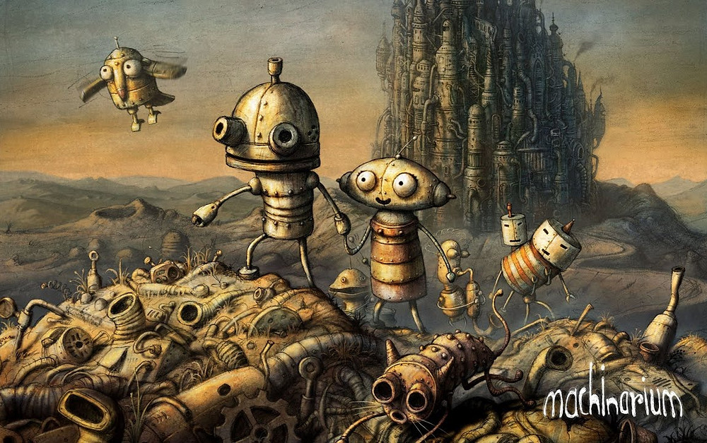 Machinarium is a full scale point and click adventure game by Amanita Design